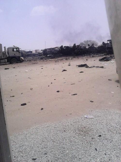 Nghi vấn tên lửa Yemen tấn công trại lính đánh thuê của Arab Saudi ảnh 2