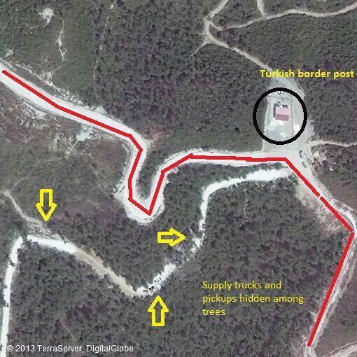 Phiến quân sử dụng các trại tị nạn trên biên giới Thổ Nhĩ Kỳ tấn công Latakia ảnh 2