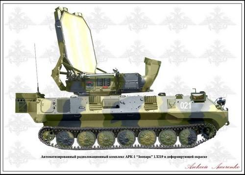 Nga đưa tổ hợp radar chống pháo binh Zoopark-1 tham chiến ở Syria ảnh 1