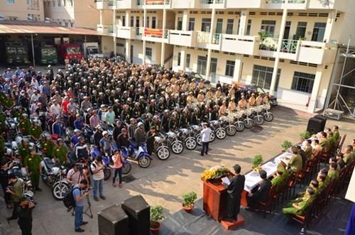 Sau chỉ đạo của Bí thư Đinh La Thăng, Công an TP.HCM tổng lực tấn công tội phạm ảnh 1
