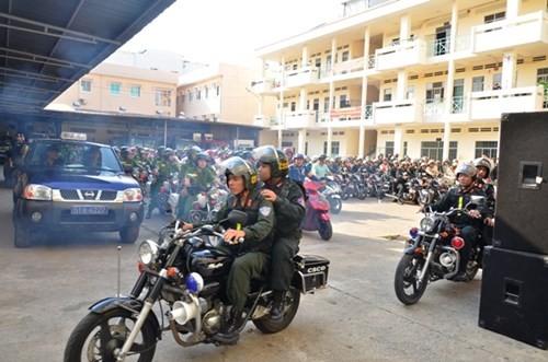Sau chỉ đạo của Bí thư Đinh La Thăng, Công an TP.HCM tổng lực tấn công tội phạm ảnh 3