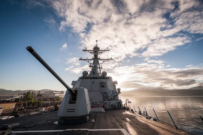 Cụm tàu sân bay chiến đấu Mỹ phô diễn uy lực ở Biển Đông ảnh 6