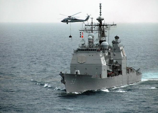 Cụm tàu sân bay chiến đấu Mỹ phô diễn uy lực ở Biển Đông ảnh 7