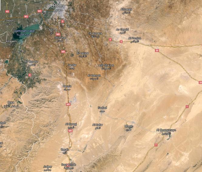 Quân đội Syria đánh chiếm nhiều ngọn đồi xung quanh thành phố Quraytayn tỉnh Homs ảnh 1