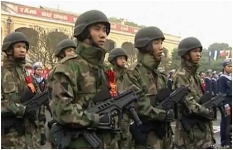 Súng trường tự động tấn công Tavor 21 của Hải quân đánh bộ Việt Nam ảnh 4