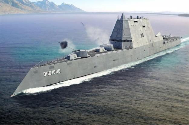 Siêu khu trục hạm Zumwalt của Hải quân Mỹ - chiến hạm của tương lai ảnh 7