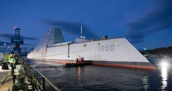 Siêu khu trục hạm Zumwalt của Hải quân Mỹ - chiến hạm của tương lai ảnh 2