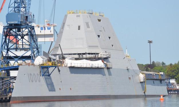 Siêu khu trục hạm Zumwalt của Hải quân Mỹ - chiến hạm của tương lai ảnh 3