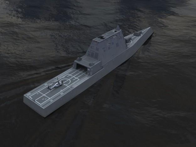 Siêu khu trục hạm Zumwalt của Hải quân Mỹ - chiến hạm của tương lai ảnh 10