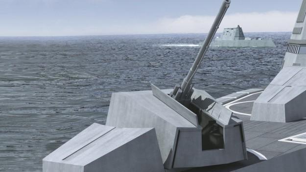 Siêu khu trục hạm Zumwalt của Hải quân Mỹ - chiến hạm của tương lai ảnh 4