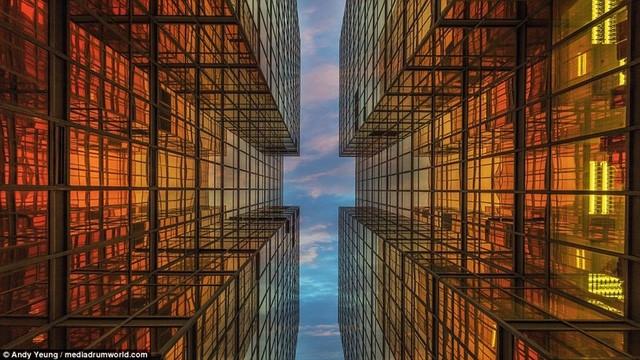 Hong Kong chật kít nhà cao tầng qua góc nhìn Flycam ảnh 8