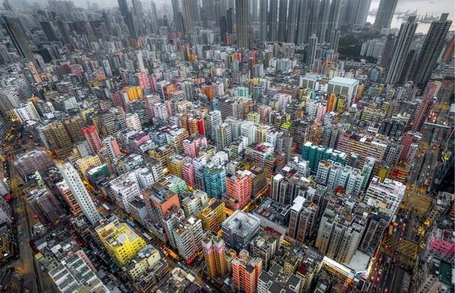 Hong Kong chật kít nhà cao tầng qua góc nhìn Flycam ảnh 1