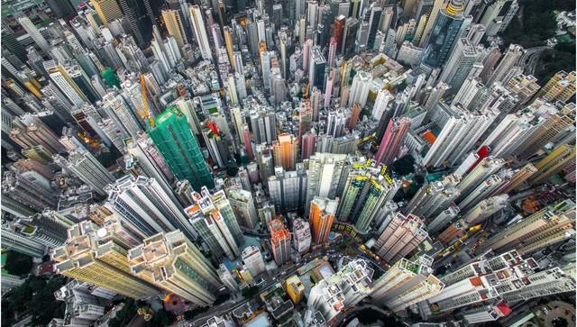 Hong Kong chật kít nhà cao tầng qua góc nhìn Flycam ảnh 5