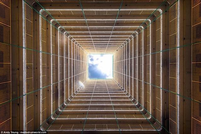 Hong Kong chật kít nhà cao tầng qua góc nhìn Flycam ảnh 10