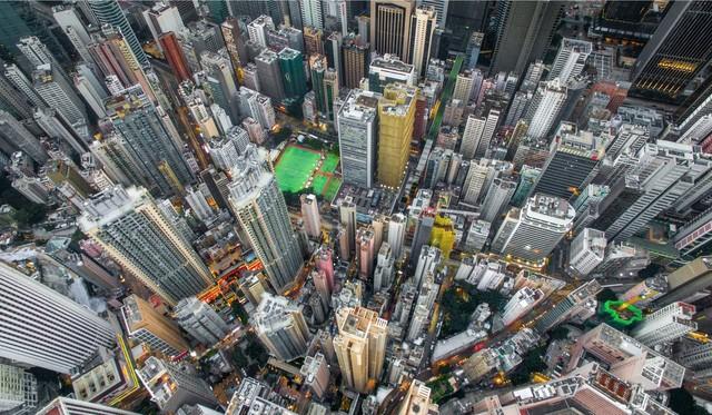 Hong Kong chật kít nhà cao tầng qua góc nhìn Flycam ảnh 4