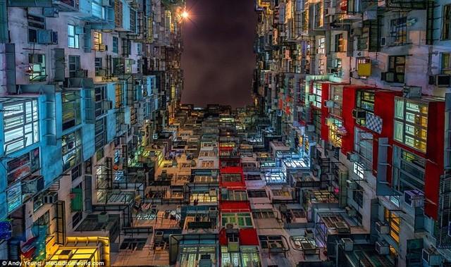 Hong Kong chật kít nhà cao tầng qua góc nhìn Flycam ảnh 7