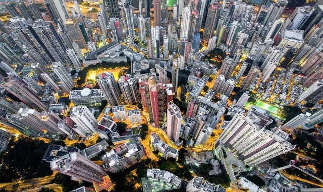Hong Kong chật kít nhà cao tầng qua góc nhìn Flycam ảnh 6