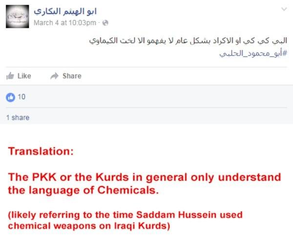 Sốc: Lực lượng Hồi giáo cực đoan tấn công người Kurd bằng vũ khí hóa học ảnh 2