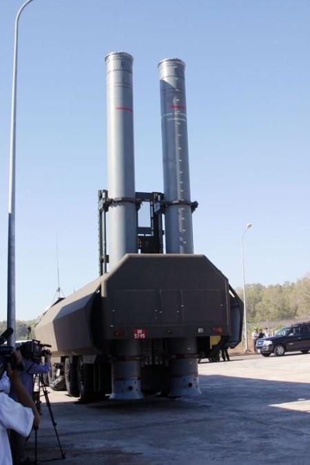 'Lá chắn thép' Bastion-P với các tên lửa Yakhont cực kỳ hiện đại, có thể tiêu diệt mục tiêu từ khoảng cách 300 km
