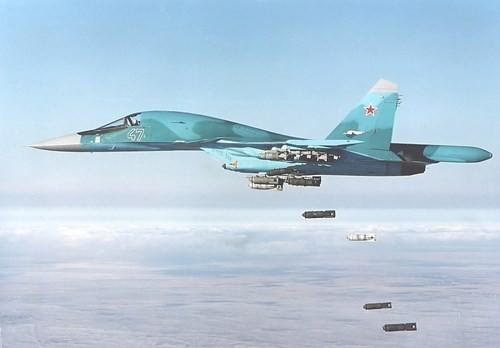 Máy bay cường kích ném bom Su-34