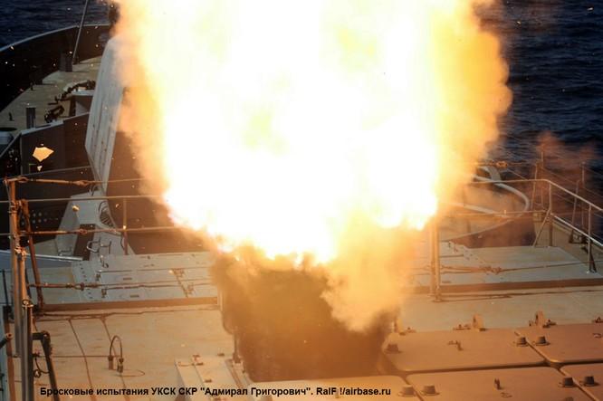 Sức mạnh khu trục hạm Nga tăng cường tới Crimea ảnh 4