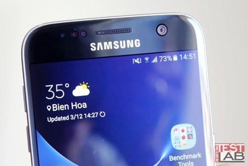 Đánh giá smartphone Samsung Galaxy S7 ảnh 3