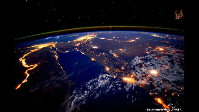 Những bức ảnh kỳ thú của Trái đất từ trạm không gian ISS ảnh 1
