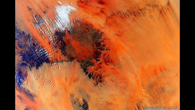 Những bức ảnh kỳ thú của Trái đất từ trạm không gian ISS ảnh 2