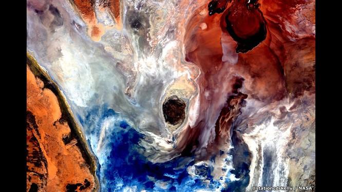 Những bức ảnh kỳ thú của Trái đất từ trạm không gian ISS ảnh 8