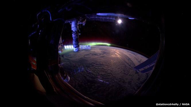 Những bức ảnh kỳ thú của Trái đất từ trạm không gian ISS ảnh 11