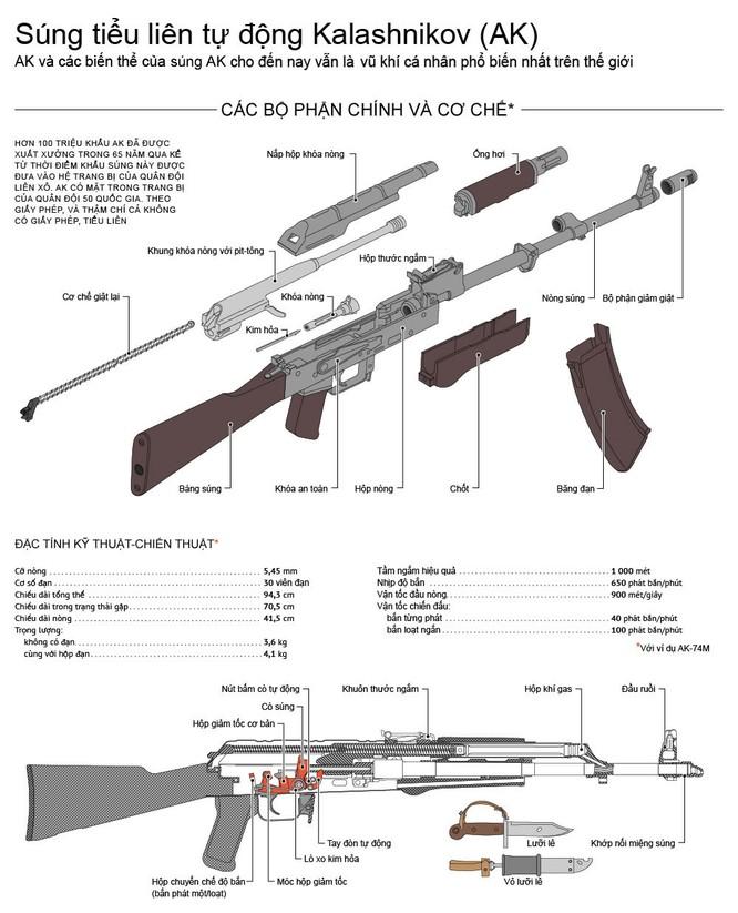Súng tiểu liên tự động Kalashnikov (AK) ảnh 1
