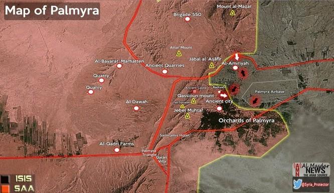Video + Ảnh: Ác liệt trận chiến giành thành phố cổ Palmyra ảnh 1