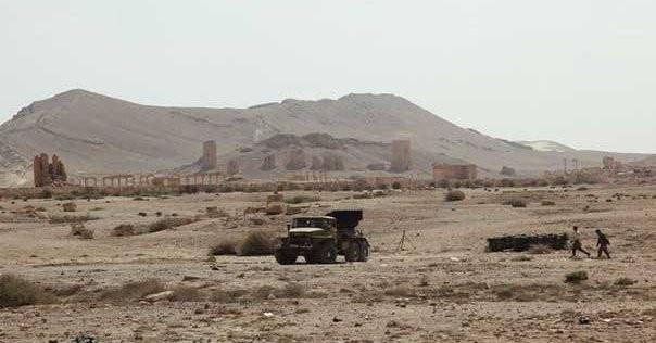 Video + Ảnh: Ác liệt trận chiến giành thành phố cổ Palmyra ảnh 5