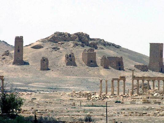 Video + Ảnh: Ác liệt trận chiến giành thành phố cổ Palmyra ảnh 12