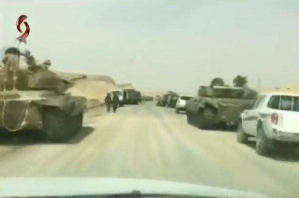 Video + Ảnh: Ác liệt trận chiến giành thành phố cổ Palmyra ảnh 26