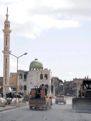Cận cảnh thành phố Palmyra sau khi giải phóng (ảnh + video) ảnh 2