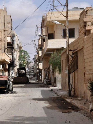 Cận cảnh thành phố Palmyra sau khi giải phóng (ảnh + video) ảnh 14