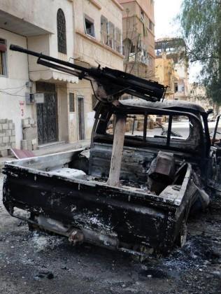 Cận cảnh thành phố Palmyra sau khi giải phóng (ảnh + video) ảnh 17