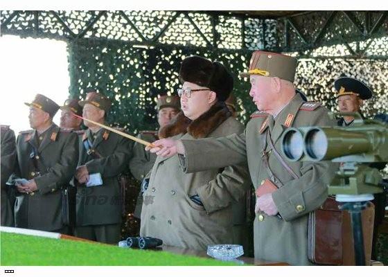 Cận cảnh uy lực pháo binh của Quân đội Nhân dân Triều Tiên trong diễn tập ảnh 14