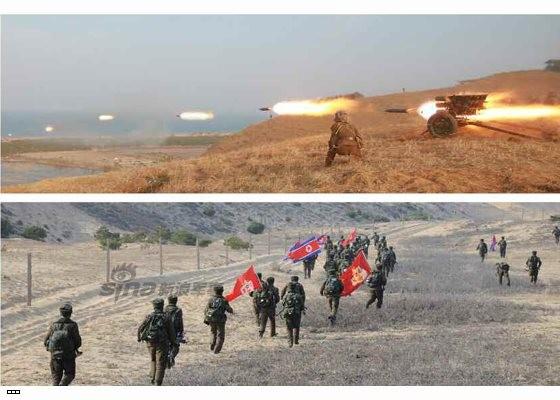 Cận cảnh uy lực pháo binh của Quân đội Nhân dân Triều Tiên trong diễn tập ảnh 24