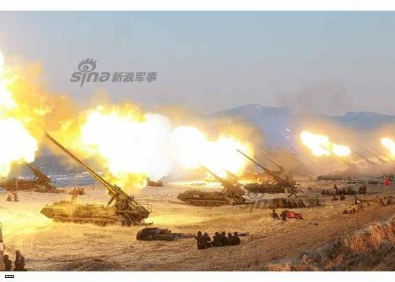 Cận cảnh uy lực pháo binh của Quân đội Nhân dân Triều Tiên trong diễn tập ảnh 30
