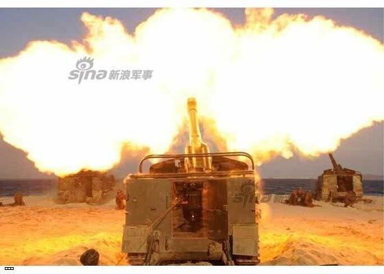 Cận cảnh uy lực pháo binh của Quân đội Nhân dân Triều Tiên trong diễn tập ảnh 32