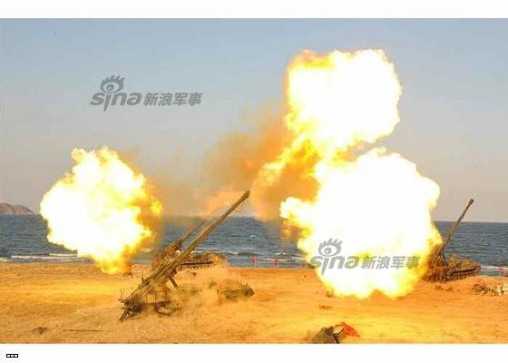 Cận cảnh uy lực pháo binh của Quân đội Nhân dân Triều Tiên trong diễn tập ảnh 33