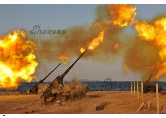 Cận cảnh uy lực pháo binh của Quân đội Nhân dân Triều Tiên trong diễn tập ảnh 34