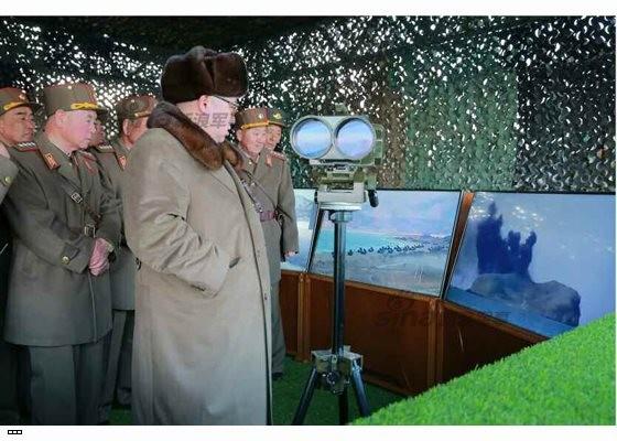 Cận cảnh uy lực pháo binh của Quân đội Nhân dân Triều Tiên trong diễn tập ảnh 35