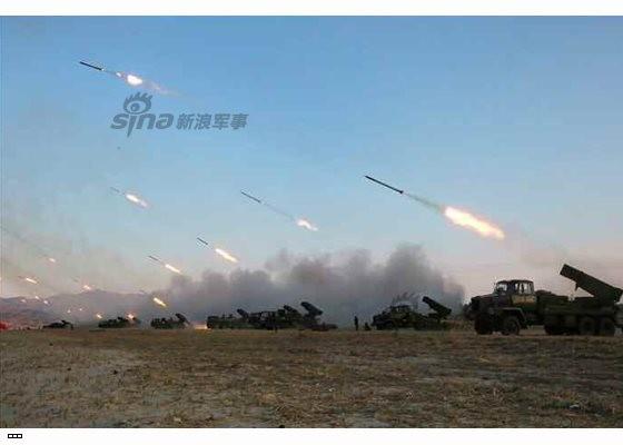 Cận cảnh uy lực pháo binh của Quân đội Nhân dân Triều Tiên trong diễn tập ảnh 38