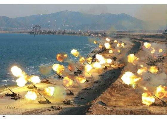 Cận cảnh uy lực pháo binh của Quân đội Nhân dân Triều Tiên trong diễn tập ảnh 40