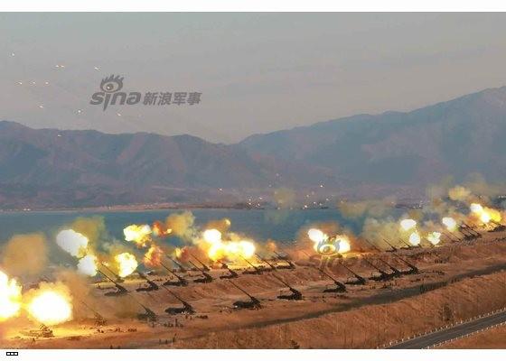 Cận cảnh uy lực pháo binh của Quân đội Nhân dân Triều Tiên trong diễn tập ảnh 47