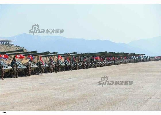 Cận cảnh uy lực pháo binh của Quân đội Nhân dân Triều Tiên trong diễn tập ảnh 52