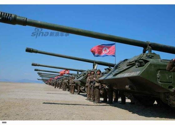 Cận cảnh uy lực pháo binh của Quân đội Nhân dân Triều Tiên trong diễn tập ảnh 53